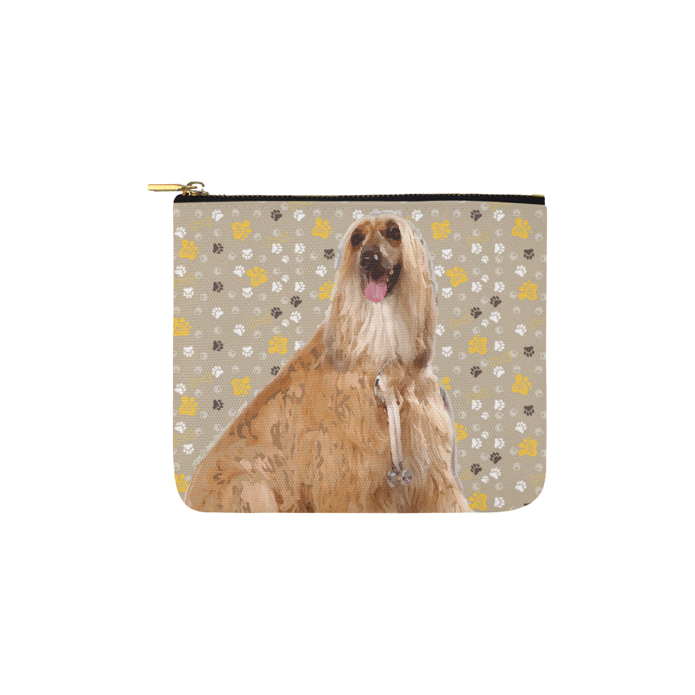 Afghan Hound Carry-All Pouch 6x5 - TeeAmazing