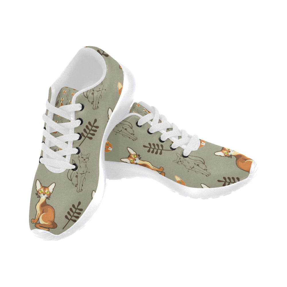 Abyssinian White Sneakers for Men - TeeAmazing