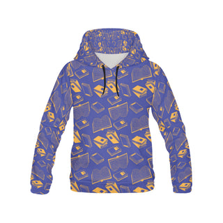 Book Pattern All Over Print Hoodie for Men - TeeAmazing