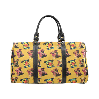 Pit Bull Pop Art Pattern No.2 New Waterproof Travel Bag/Large - TeeAmazing