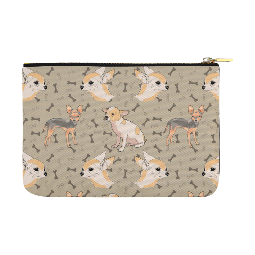 Chihuahua Carry-All Pouch 12.5x8.5 - TeeAmazing
