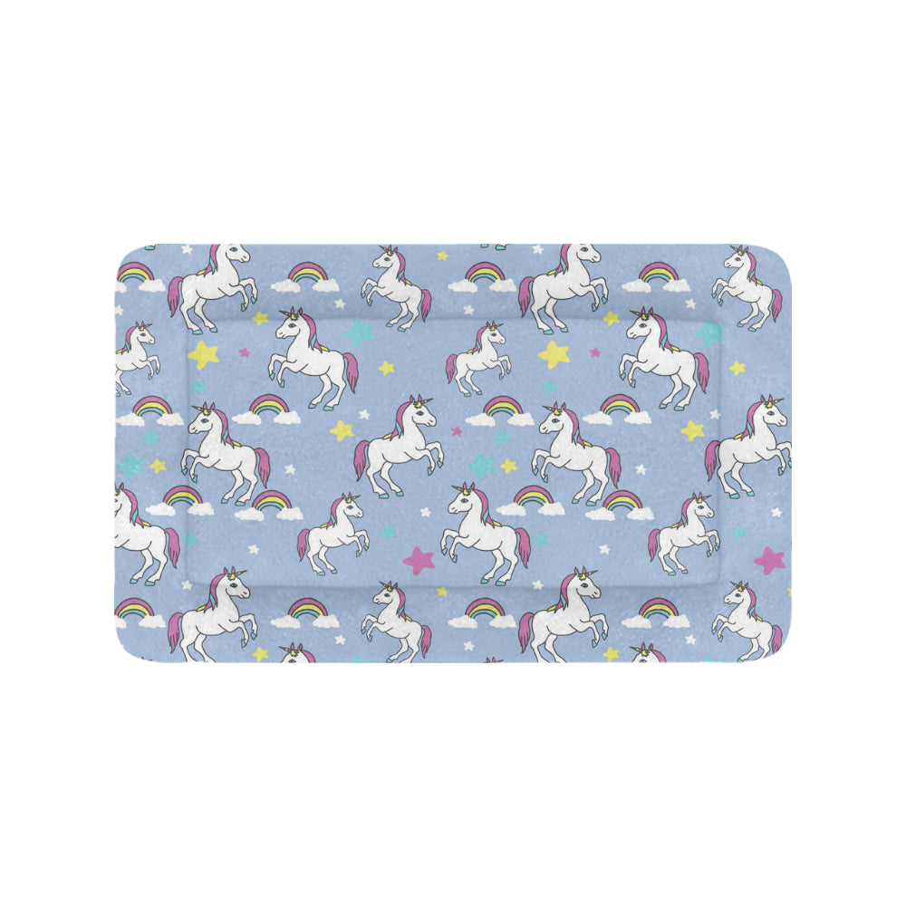 "Unicorn Pattern Pet Beds 42""x26"" - TeeAmazing"