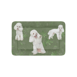 "Poodle Lover Pet Bed 36""x23"" - TeeAmazing"