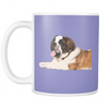 St. Bernard Dog Mugs & Coffee Cups - St. Bernard Coffee Mugs - TeeAmazing - 8
