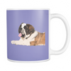 St. Bernard Dog Mugs & Coffee Cups - St. Bernard Coffee Mugs - TeeAmazing - 7