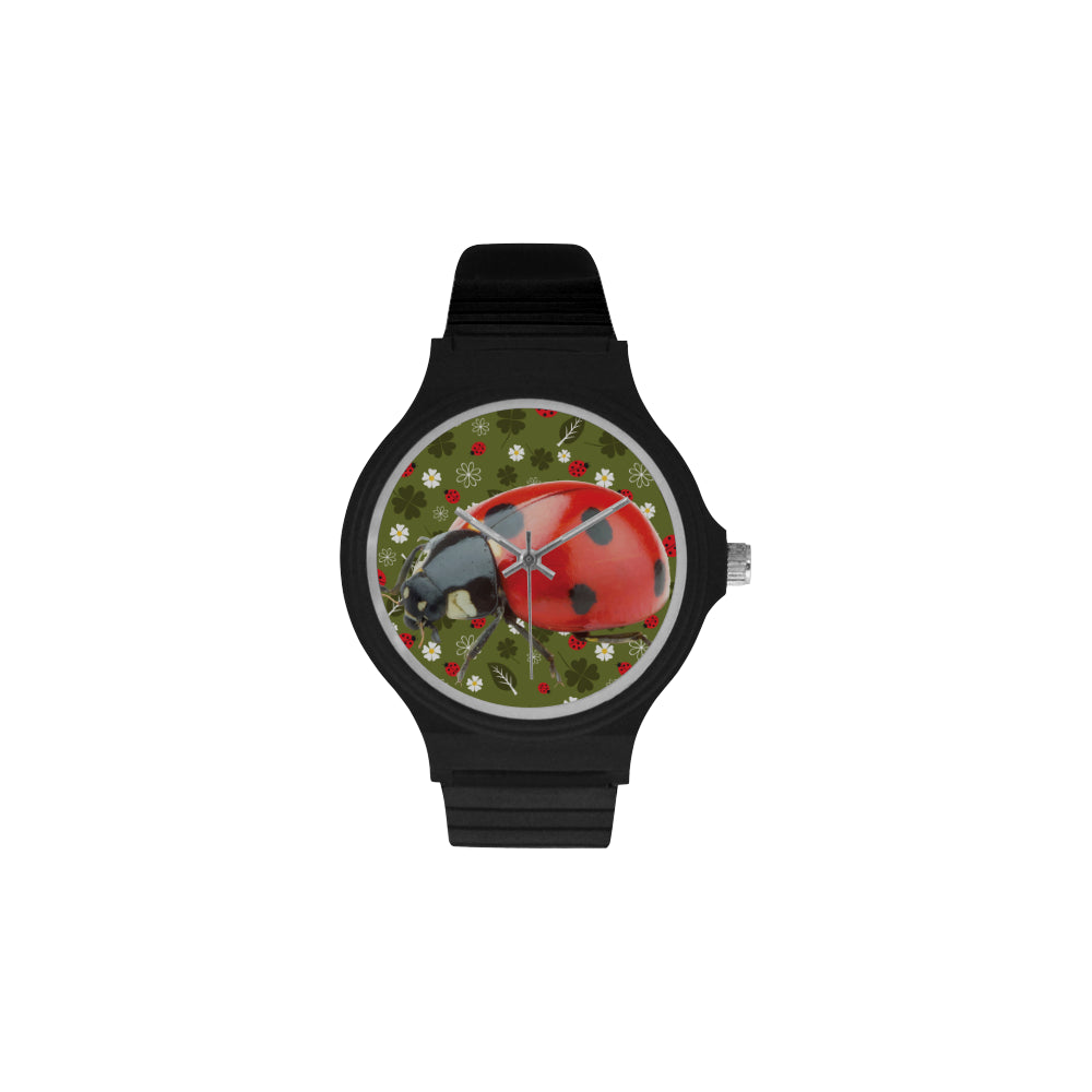 Lady Bug Unisex Round Plastic Watch D2145875