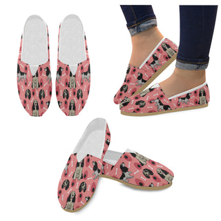 English Springer Spaniels Women's Casual Shoes - TeeAmazing