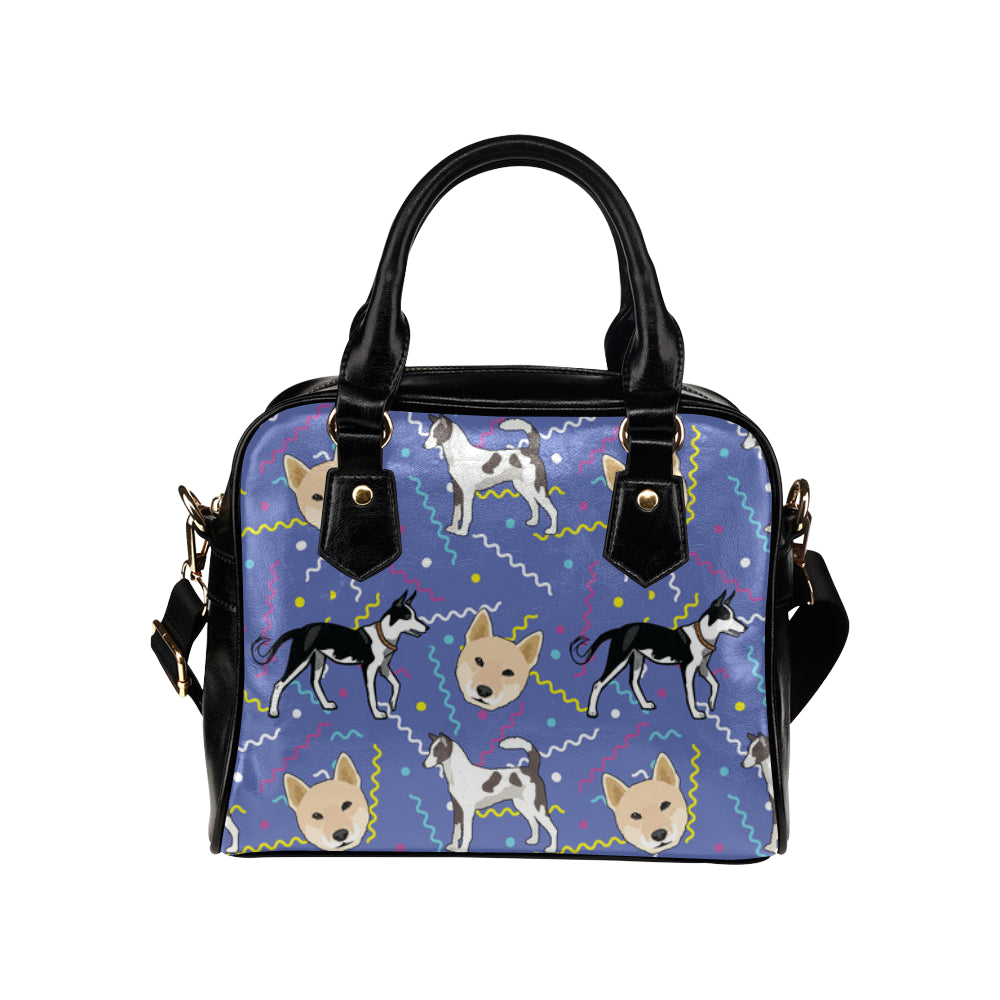 Canaan Dog Shoulder Handbag - TeeAmazing