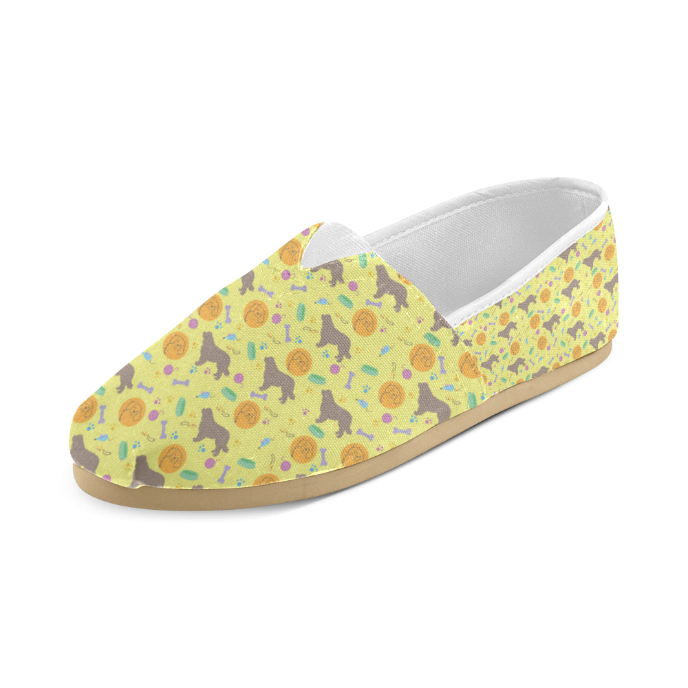 Newfoundland Pattern Women's Casual Shoes - TeeAmazing
