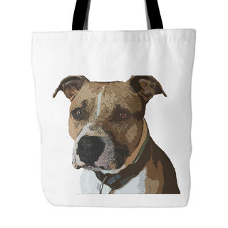 American Staffordshire Terrier Dog Tote Bags - American Staffordshire Terrier Bags - TeeAmazing