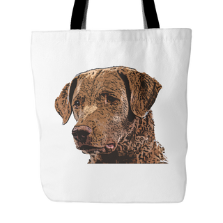 Chesapeake Bay Retriever Dog Tote Bags - Chesapeake Bay Retriever Bags - TeeAmazing - 1