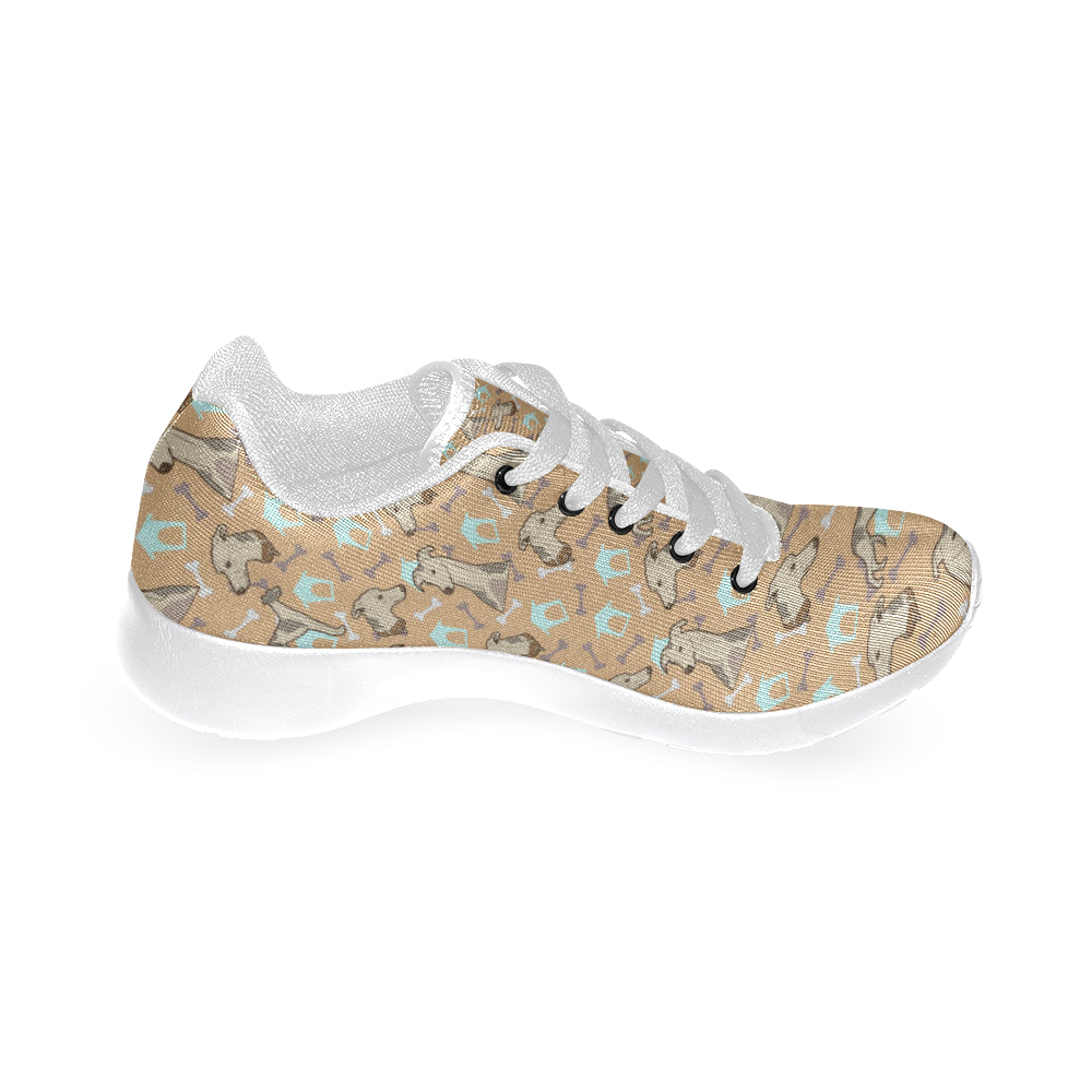 Whippet White Sneakers for Men - TeeAmazing