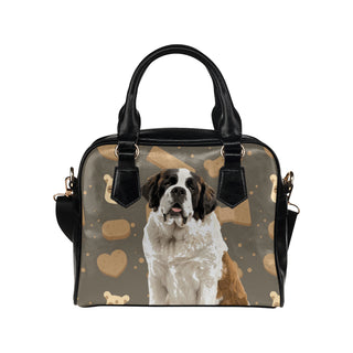 St. Bernard Dog Shoulder Handbag