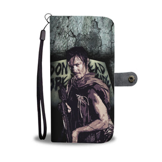 Daryl Dixon Wallet Phone Case - Walking Dead Phone Case Wallet - TeeAmazing