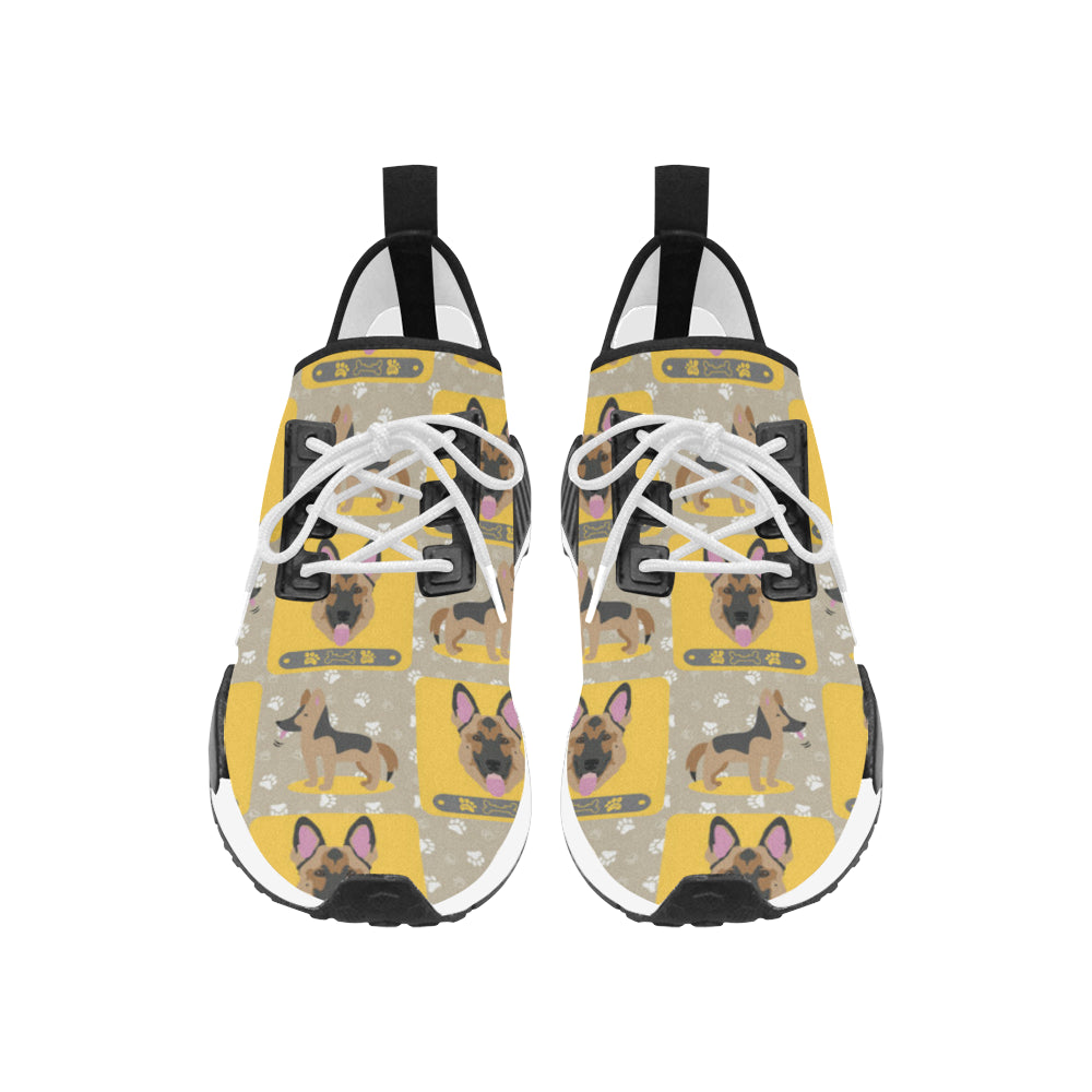 German Shepherd Pattern Men's Draco Running Shoes - TeeAmazing
