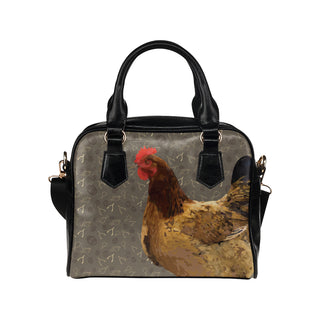 Chicken Footprint Shoulder Handbag - TeeAmazing