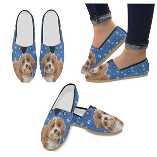Cavapoo Dog Women's Casual Shoes - TeeAmazing