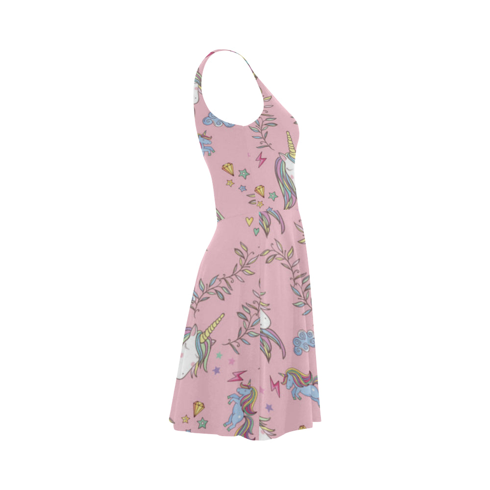 Unicorn Pattern V2 Atalanta Sundress - TeeAmazing