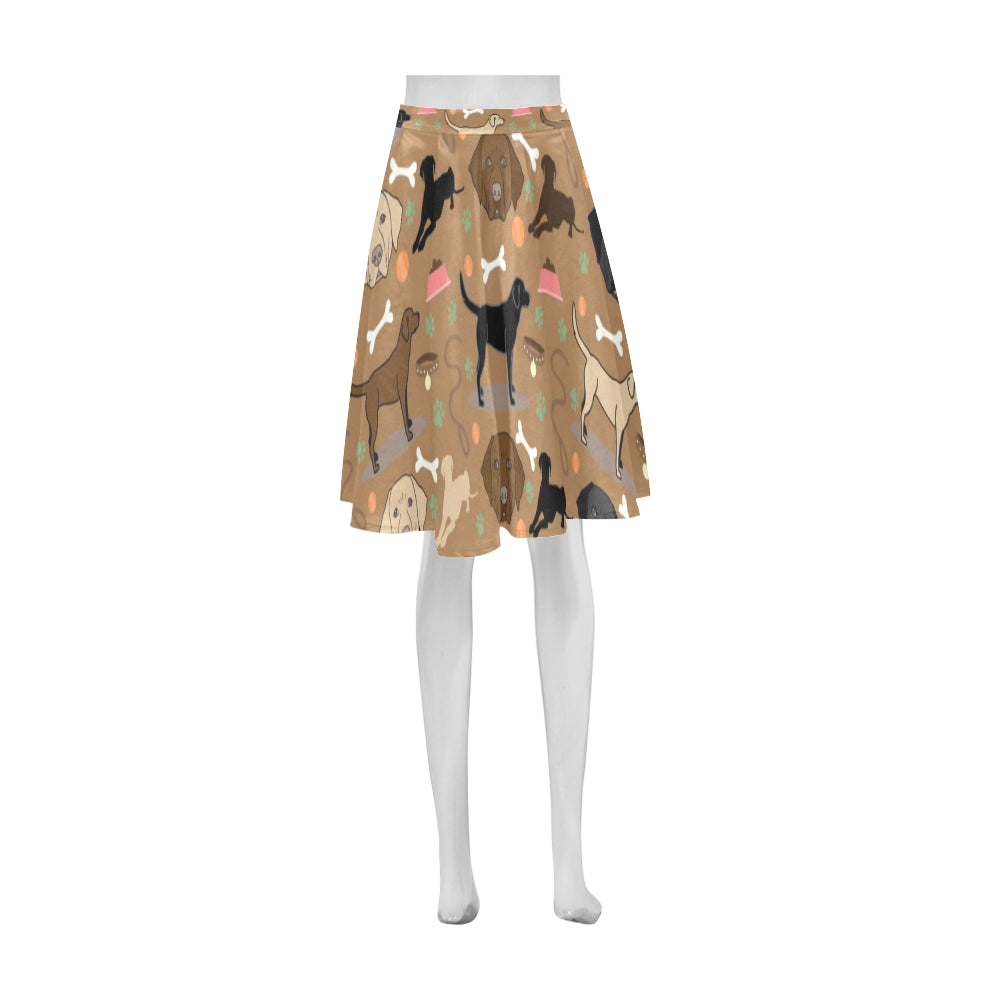Labrador 3 Colors Athena Women's Short Skirt - TeeAmazing