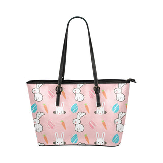 Rabbit Leather Tote Bag/Small (Model 1651) - TeeAmazing