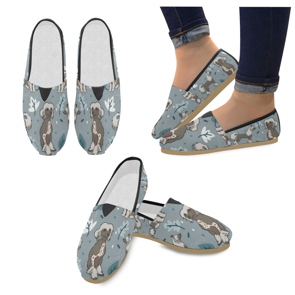 Chinese Crested Women's Casual Shoes - TeeAmazing