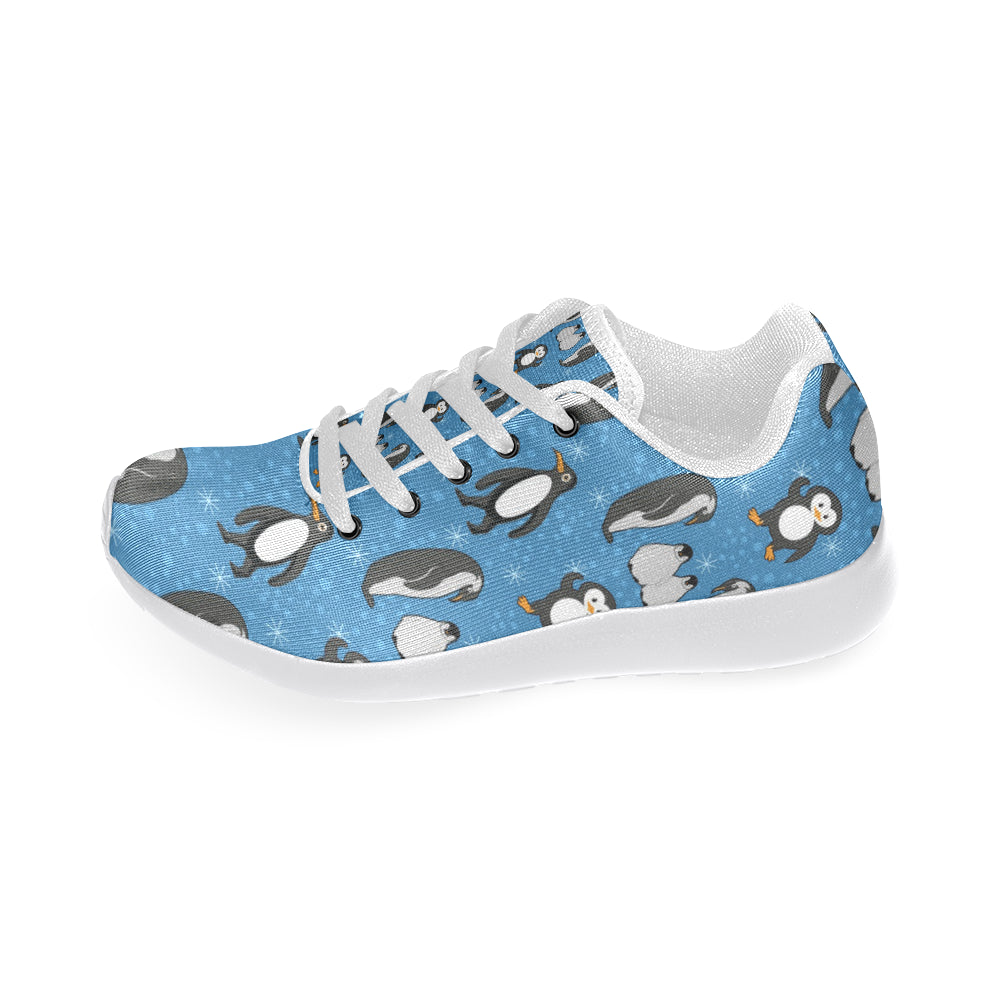Penguin White Sneakers for Women - TeeAmazing