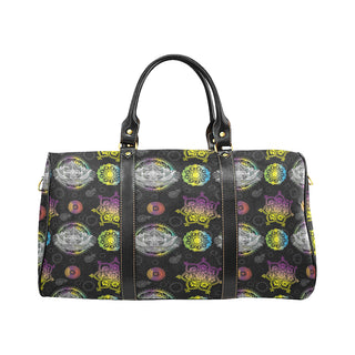 Lotus and Mandalas New Waterproof Travel Bag/Large - TeeAmazing