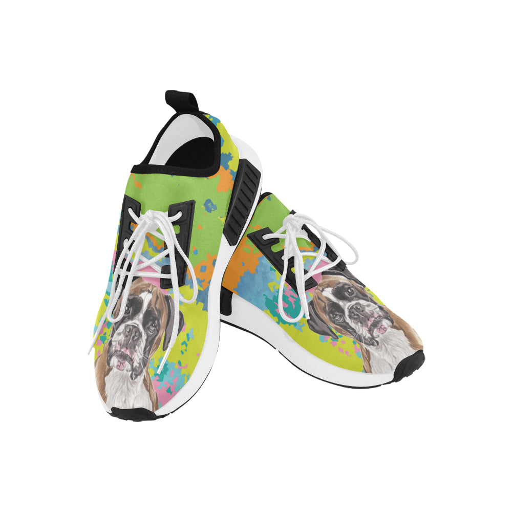 Boxer Water Colour No.2 Men's Draco Running Shoes - TeeAmazing