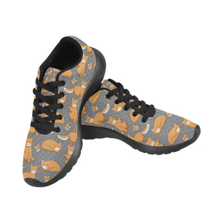 LaPerm Black Sneakers Size 13-15 for Men - TeeAmazing