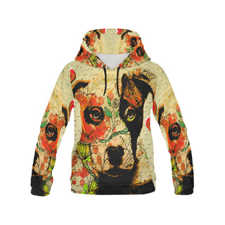 Pit Bull Pop Art No.3 Women's All Over Print Hoodie - TeeAmazing