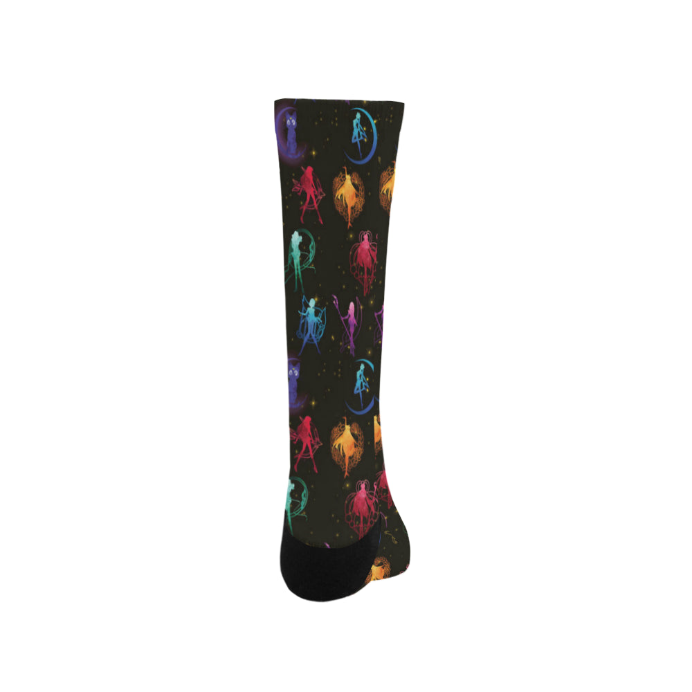 All Sailor Soldiers Trouser Socks - TeeAmazing