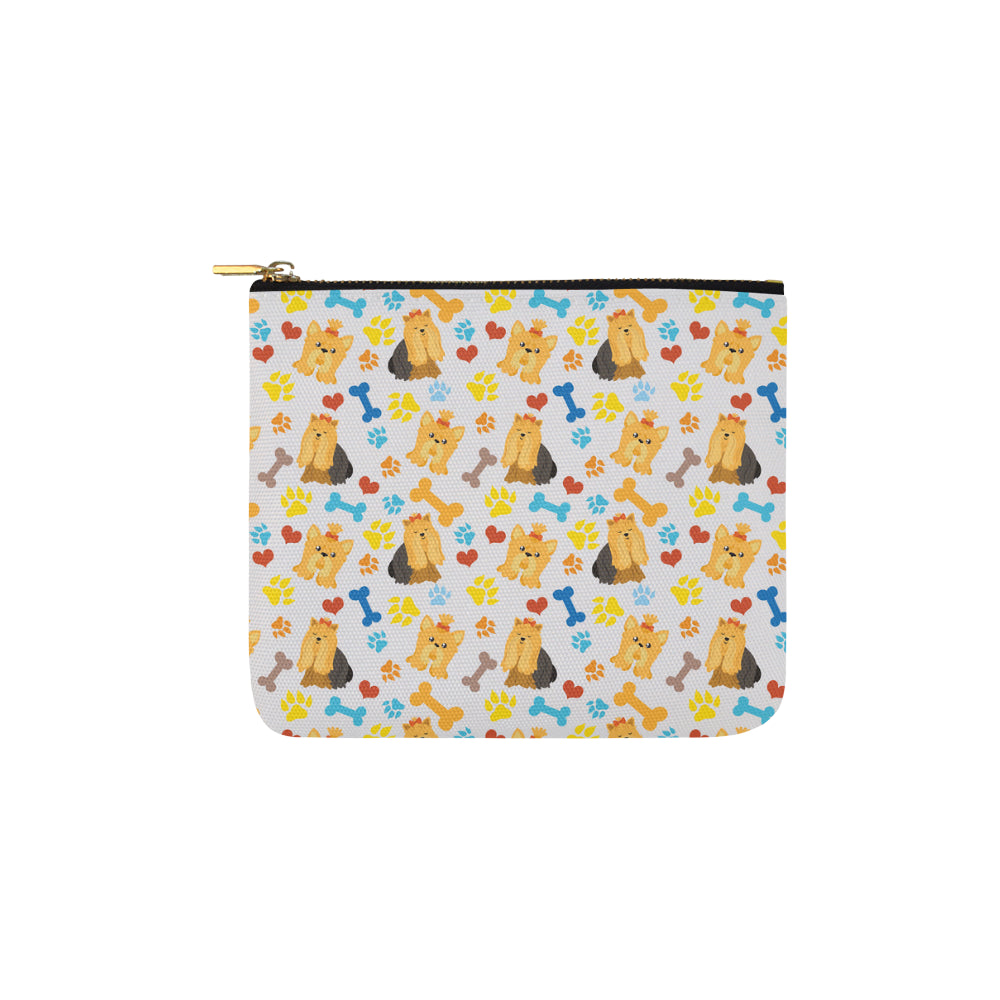 Shih Tzu Pattern Carry-All Pouch 6x5 - TeeAmazing