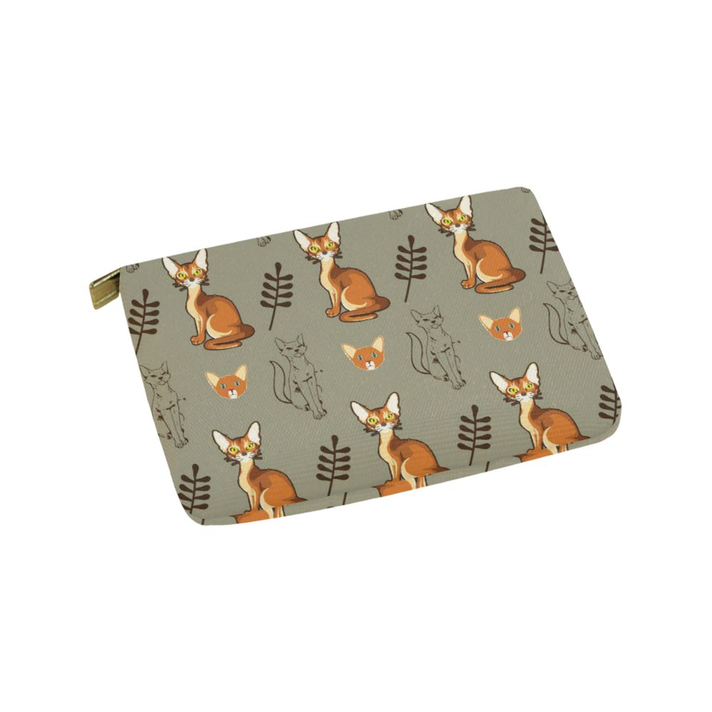 Abyssinian Carry-All Pouch 9.5''x6'' - TeeAmazing