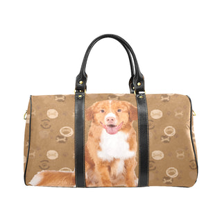 Nova Scotia Duck Tolling Retriever Dog New Waterproof Travel Bag/Large (Model 1639) - TeeAmazing