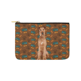 Irish Terrier Dog Carry-All Pouch 9.5''x6'' - TeeAmazing