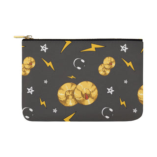 Cymbals Pattern Carry-All Pouch 12.5''x8.5'' - TeeAmazing