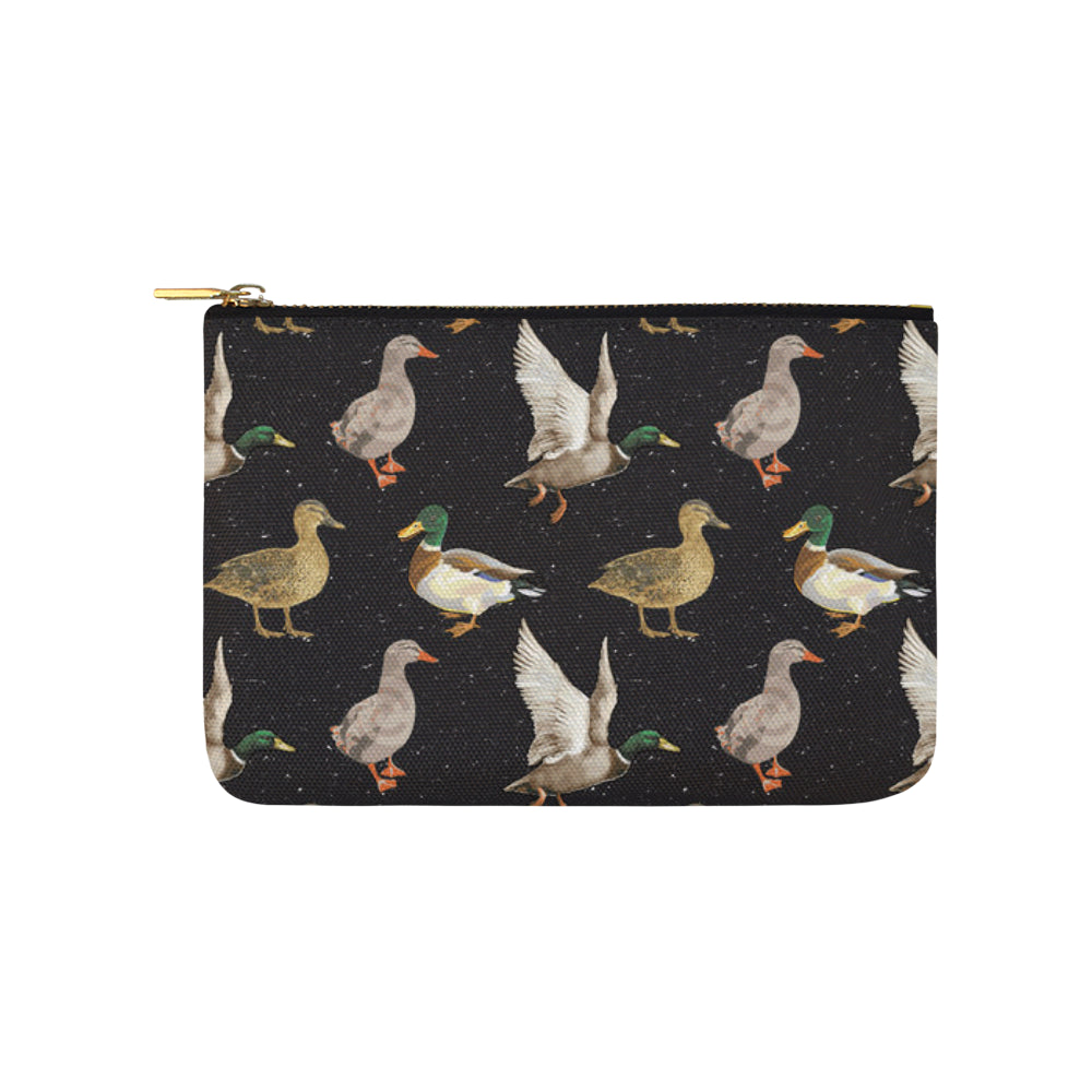 Mallard Duck Carry-All Pouch 9.5x6 - TeeAmazing