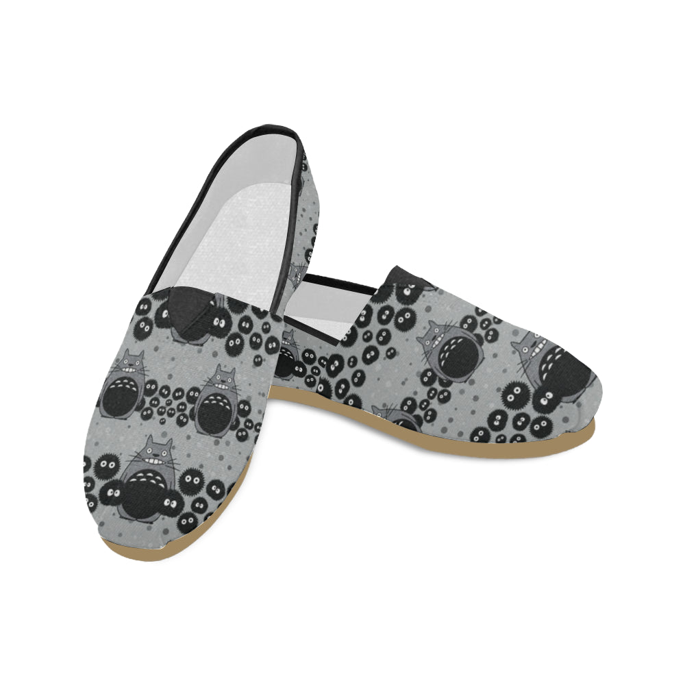 Totoro Pattern Women's Casual Shoes - TeeAmazing