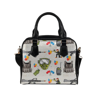 Paintball Shoulder Handbag - TeeAmazing