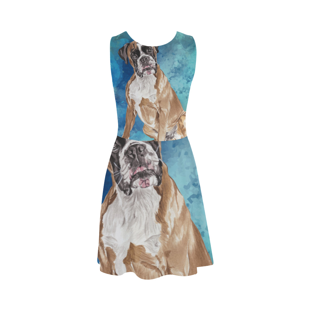 Boxer Water Colour Atalanta Sundress - TeeAmazing