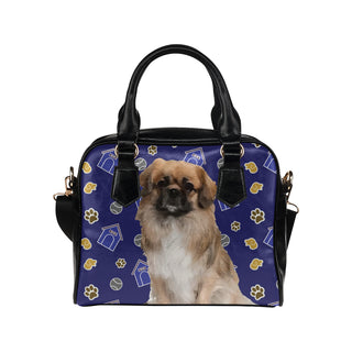 Pekingese Dog Shoulder Handbag - TeeAmazing