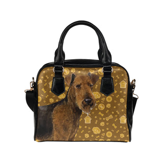 Welsh Terrier Dog Shoulder Handbag - TeeAmazing
