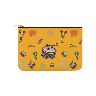 Bass Drum Pattern Carry-All Pouch 9.5x6 - TeeAmazing
