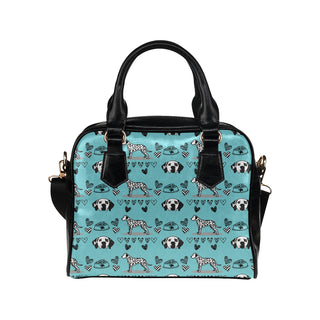 Dalmatian Pattern Shoulder Handbag (Model 1634) - TeeAmazing