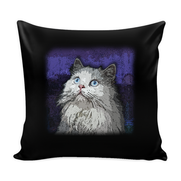 Persian Cat Pillow Cover - Persian Accessories - TeeAmazing