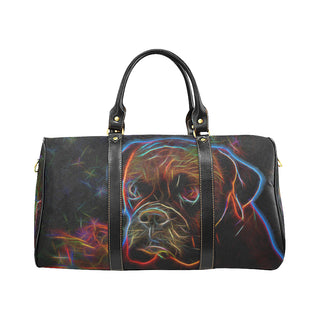 Boxer Glow Design 3 New Waterproof Travel Bag/Small - TeeAmazing