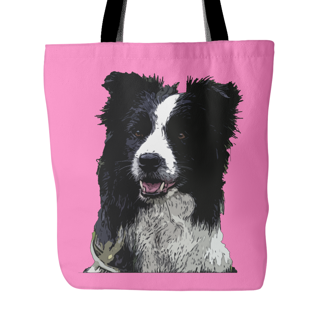 Border Collie Dog Tote Bags - Border Collie Bags - TeeAmazing