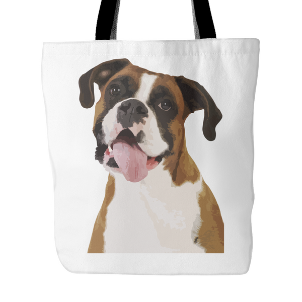 Boxer Tote Bags - Boxer Bags - TeeAmazing - 1