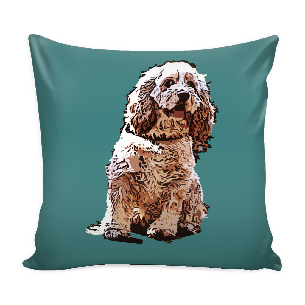 American Cocker Spaniel Dog Pillow Cover - American Cocker Spaniel Accessories - TeeAmazing