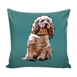 American Cocker Spaniel Dog Pillow Cover - American Cocker Spaniel Accessories - TeeAmazing - 3
